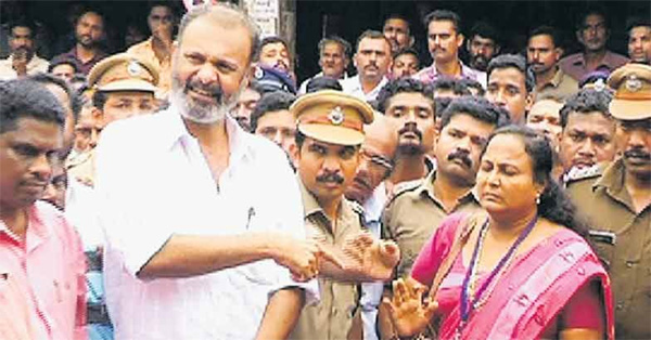 Kerala MLA yells at woman D 07591