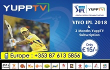 IPL ക്രിക്കറ്റ് മത്സരം 15 യൂറോ നിരക്കില് തടസം കൂടാതെ യൂറോപ്പില് നിയമപരമായി കാണാം